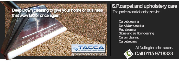 The Approved carpet cleaning service in Nottingham